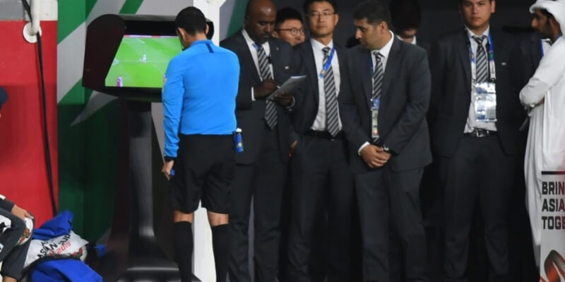 Would you get sent off if VAR could be referred to in your life?